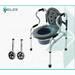 Кресло-туалет Heiler Transformer 2в1 ВА843