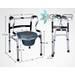 Кресло-туалет Heiler Transformer 2в1 Hr103T